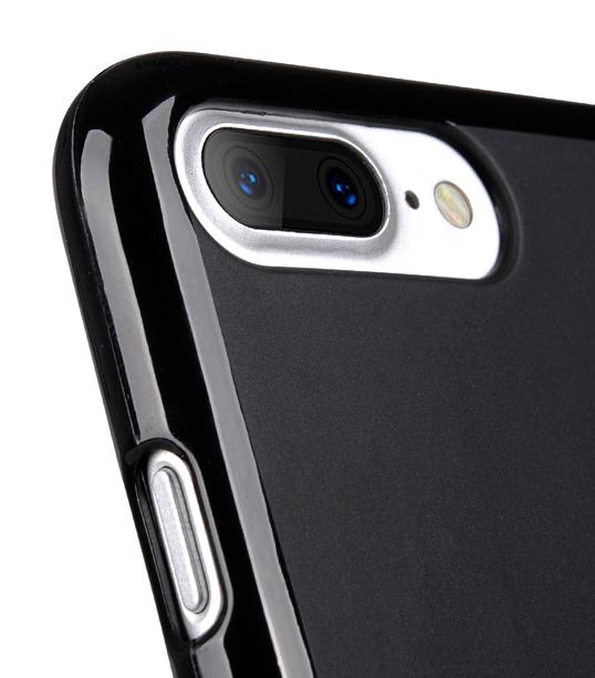 "Melkco Poly Jacket TPU Case for Apple iPhone 7 / 8 Plus (5.5"") - Black Mat"