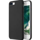 """Melkco Aqua Silicone Case for Apple iPhone 7 / 8 Plus (5.5"""") – ( Black )"""