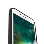 """Melkco Aqua Silicone Case for Apple iPhone 7 / 8 Plus (5.5"""") - ( Black )"""