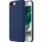 """Melkco Aqua Silicone Case for Apple iPhone 7 / 8 Plus (5.5"""") – ( Dark Blue )"""