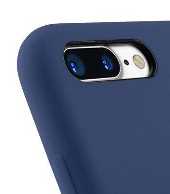 """Melkco Aqua Silicone Case for Apple iPhone 7 / 8 Plus (5.5"""") - ( Dark Blue )"""