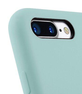 "Melkco Aqua Silicone Case for Apple iPhone 7 / 8 Plus (5.5"") - ( Light Green )"