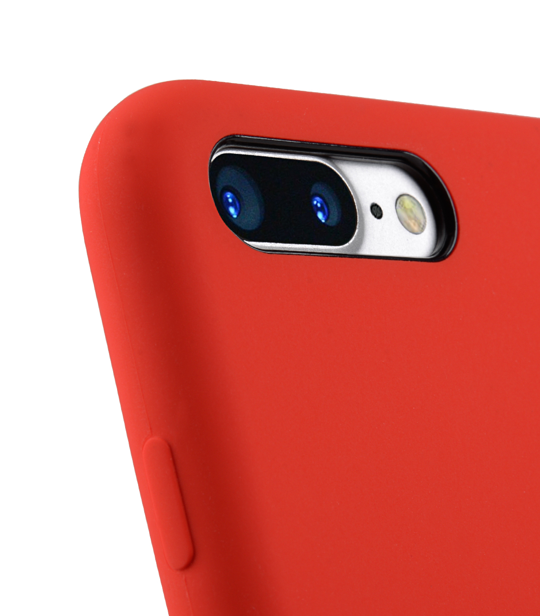 "Melkco Aqua Silicone Case for Apple iPhone 7 / 8 Plus (5.5"") - ( Red )"