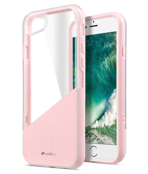 "Melkco Kubalt Series Edelman Case for iPhone 7 /8 (4.7"") - (Pink / Pink)"