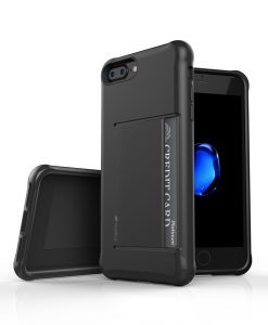 "Melkco Kubalt Series Halo Layer Case for Apple iPhone 7 / 8 Plus(5.5"")- (Black)"