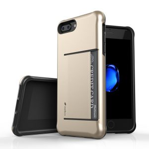 "Melkco Kubalt Series Halo Layer Case for Apple iPhone 7 / 8 Plus (5.5"") - (Gold)"