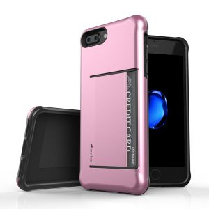"Melkco Kubalt Series Halo Layer Case for Apple iPhone 7 / 8 Plus (5.5"")- (Rose Gold)"