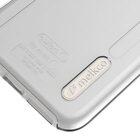 Melkco Kubalt Series  Case for Apple iPhone 7 Plus – Kubalt Double Layer (Apple Logo Visible) (Milky / Transparent White )