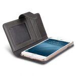 "Melkco Premium Leather Case for Apple iPhone 7 / 8 Plus (5.5"") - Wallet Book ID Slot Type (Grey Wax)"