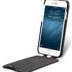 "Melkco Premium Leather Case for Apple iPhone 7 (4.7"") - Jacka Type (Black LC)"