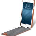 Melkco Premium Leather Case for Apple iPhone 7 (4.7'') - Jacka Type (Brown)