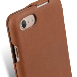 """Melkco Premium Leather Case for Apple iPhone 7 (4.7"""") - Jacka Type (Classic Vintage Brown)"""