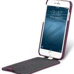 "Melkco Premium Leather Case for Apple iPhone 7 (4.7"") - Jacka Type (Purple LC)"