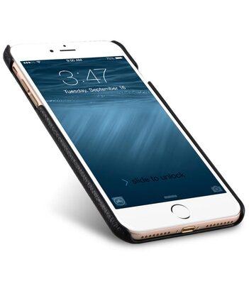 "Melkco Premium Leather Snap Cover for Apple iPhone 7 / 8 Plus(5.5"") - Black LC"
