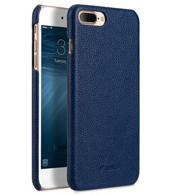 "Melkco Premium Leather Snap Cover for Apple iPhone 7 / 8 (5.5"")Plus - Dark Blue LC"