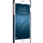 "Melkco Premium Leather Snap Cover for Apple iPhone 7 / 8 (5.5"")Plus – Dark Blue LC"