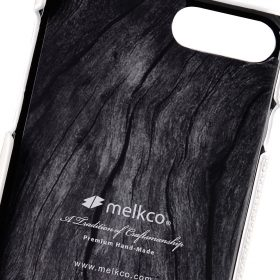 """Melkco Premium Leather Snap Cover for Apple iPhone 7 / 8 Plus(5.5"""") – White LC"""