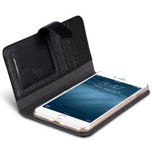 "Melkco Premium Leather Case for Apple iPhone 7 / 8 Plus (5.5"") – Wallet Book ID Slot Type (Black LC)"