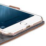 "Melkco Premium Leather Case for Apple iPhone 7 / 8 Plus (5.5"") - Locka Type (Classic Vintage Brown)"