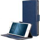 """Melkco Premium Leather Case for Apple iPhone 7 / 8 Plus (5.5"""") – Locka Type (Dark Blue LC)"""