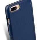 """Melkco Premium Leather Case for Apple iPhone 7 / 8 Plus (5.5"""") – Booka Type (Dark Blue LC)"""