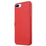 "Melkco Premium Leather Case for Apple iPhone 7 / 8 Plus (5.5"") - Booka Type (Red LC)"