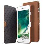 "Melkco Premium Leather Case for Apple iPhone 7 / 8 Plus(5.5"") - Booka Type (Classic Vintage Brown)"
