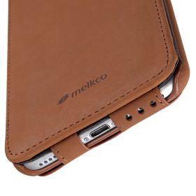 "Melkco Premium Leather Case for Apple iPhone 7 / 8 Plus (5.5"") – Jacka Stand Type (Classic Vintage Brown)"