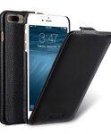 "Melkco Premium Leather Case for Apple iPhone 7 / 8 Plus (5.5"") - Jacka Type (Black LC)"