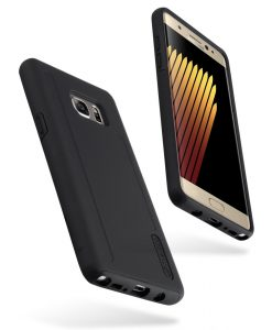 Melkco Kubalt Double Layer Cases for Samsung Galaxy Note 7 - Black/Black