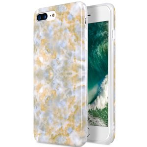 "Back Snap Series Marble Jacket Case for Apple iPhone 7 / 8 Plus (5.5"")"