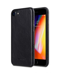 "Melkco Elite Series Waxfall Pattern Premium Leather Coaming Snap Cover Case for Apple iPhone 7 / 8 (4.7"") - ( Black WF )"