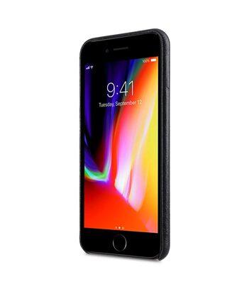 "Melkco Elite Series Waxfall Pattern Premium Leather Coaming Snap Cover Case for Apple iPhone 7 / 8 Plus (5.5"") - ( Black WF )"