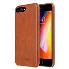 "Melkco Elite Series Waxfall Pattern Premium Leather Coaming Snap Cover Case for Apple iPhone 7 / 8 Plus (5.5"") – ( Tan WF )"