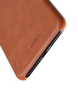 "Melkco Elite Series Waxfall Pattern Premium Leather Coaming Snap Cover Case for Apple iPhone 7 / 8 Plus (5.5"") - ( Tan WF )"