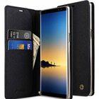 Fashion Cocktail Series Cross Pattern Premium Leather Slim Flip Type Case for Samsung Galaxy Note 8