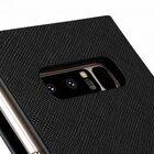 Melkco Fashion Cocktail Series Cross Pattern Premium Leather Slim Flip Type Case for Samsung Galaxy Note 8 – ( Black CP )