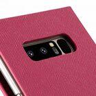 Melkco Fashion Cocktail Series Cross Pattern Premium Leather Slim Flip Type Case for Samsung Galaxy Note 8 – ( Peach CP )