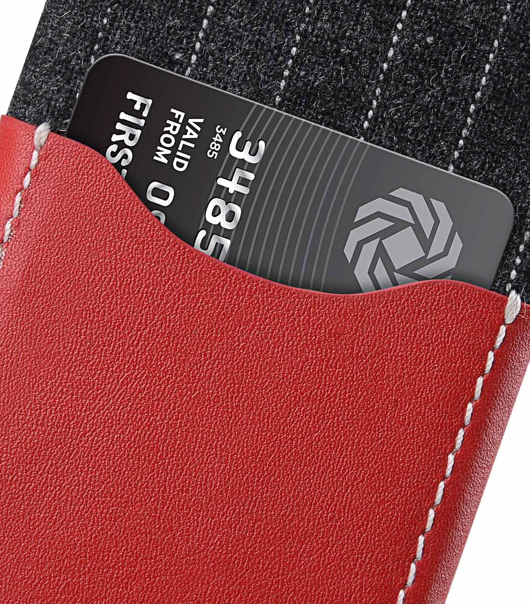 Holmes Series Heri Genuine Leather Snap Cover With Card