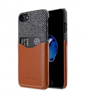 """Holmes Series Venis Genuine Leather Snap Cover with Card slot Case for Apple iPhone 7 / 8(4.7"""")"""