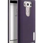 Melkco Kubalt Double Layer Case for LG V10 – Purple/White