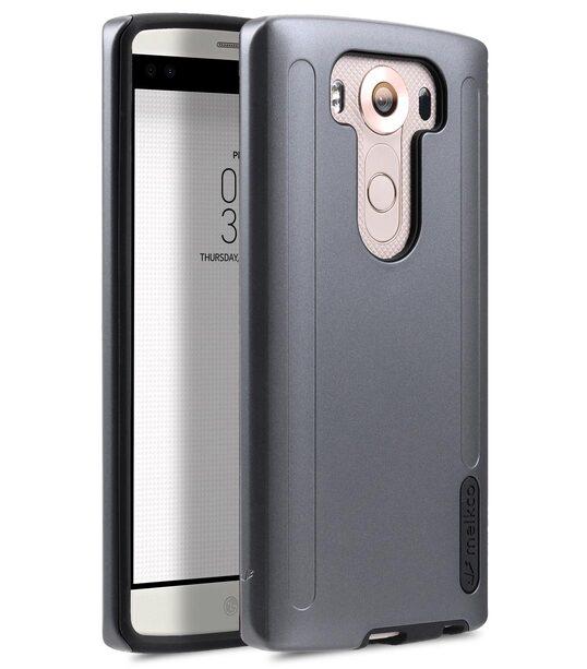 best website 10eb8 90540 Melkco Kubalt Double Layer Case for LG V10 - Pink / White