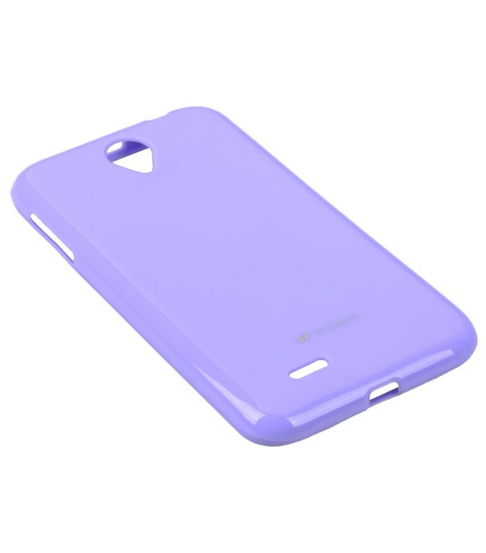 Melkco Poly Jacket TPU Cases for Lenovo A850 (Pearl Purple)