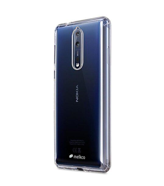 Polyultima Case For Nokia 8 Transparent