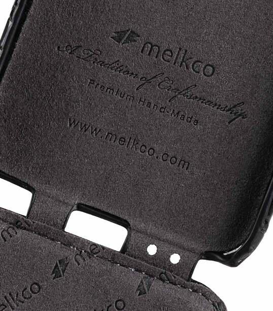 "Melkco Premium Leather Case for Apple iPhone 7 / 8 (4.7"") - Jacka Type (Black CR)"