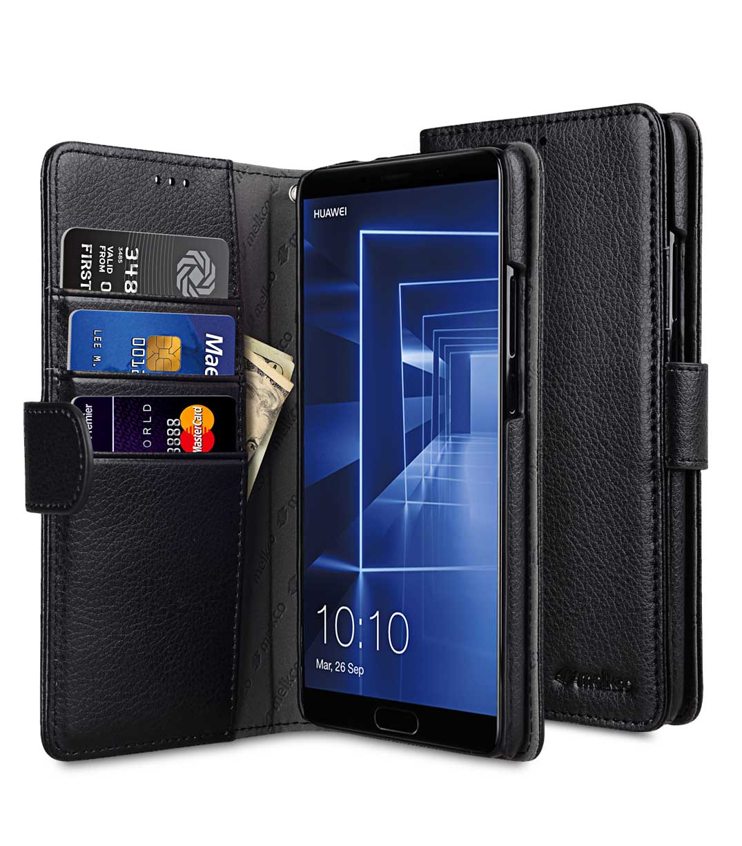 Pu Leather Case For Huawei Mate 10 Wallet Book Type