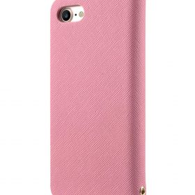 Melkco Fashion Cocktail Series slim Filp Case for Apple iPhone 7 / 8 (4.7') – (Pink Cross pattern)