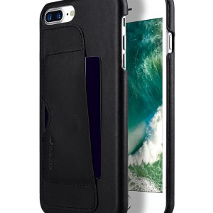 Melkco Fashion European Series Snap cover for Apple iPhone 7 / 8 Plus(5.5') - (Black)