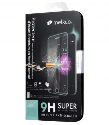 Melkco 9H Tempered Glass Screen Protector for OnePlus 5 - (Transparent)
