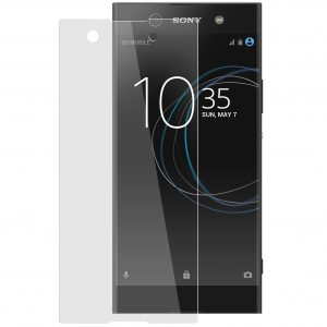 Melkco 9H Tempered Glass Screen Protector for Sony Xperia XA1 - (Transparent)